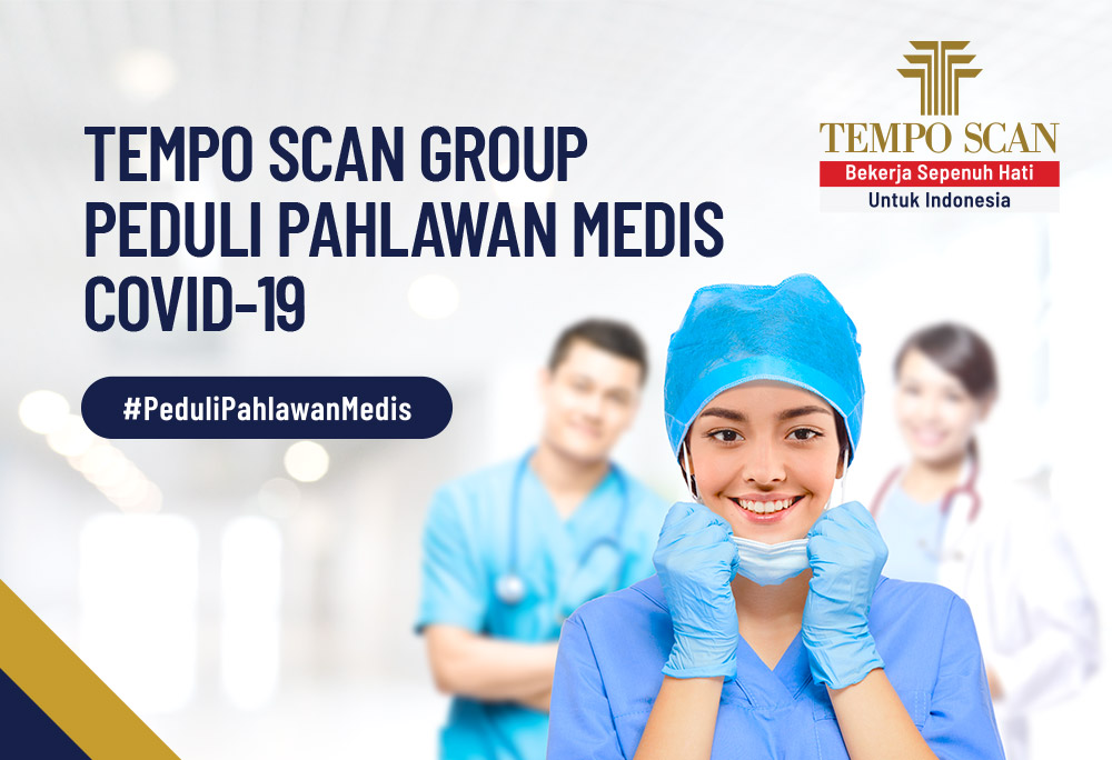 CSR TEMPO SCAN GROUP COVID-19 PREPARES A DONATION OF RP 17.5 BILLION