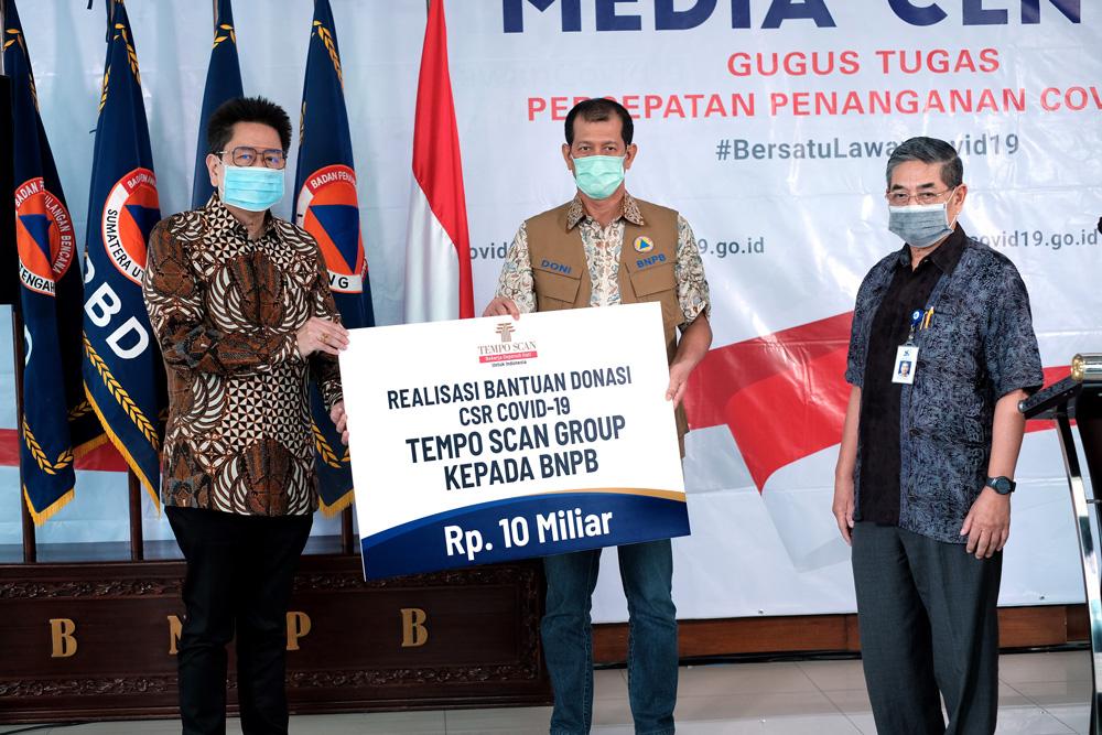 Tempo Scan Group (TSG) CSR COVID-19 - BNPB Donation