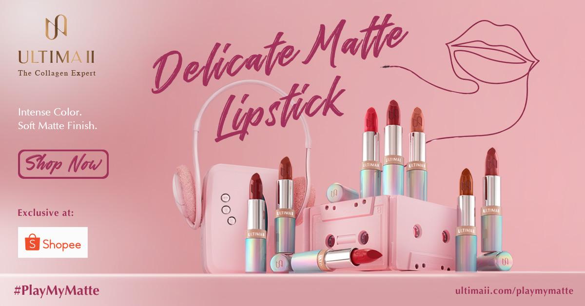 Delicate Matte Lipstick