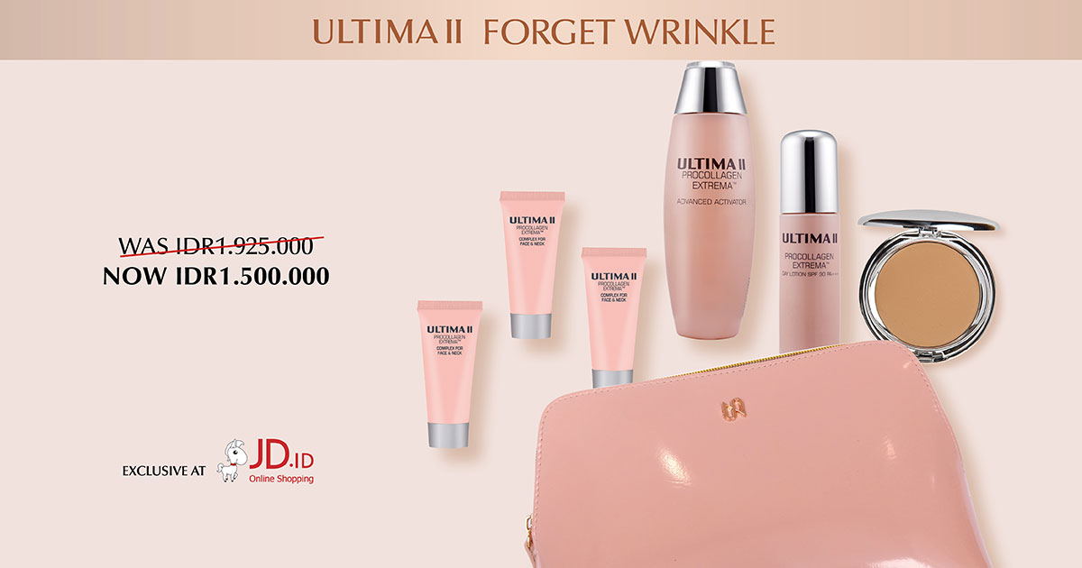 ULTIMA II FORGET WRINKLE - EXCLUSIVE AT JD.ID