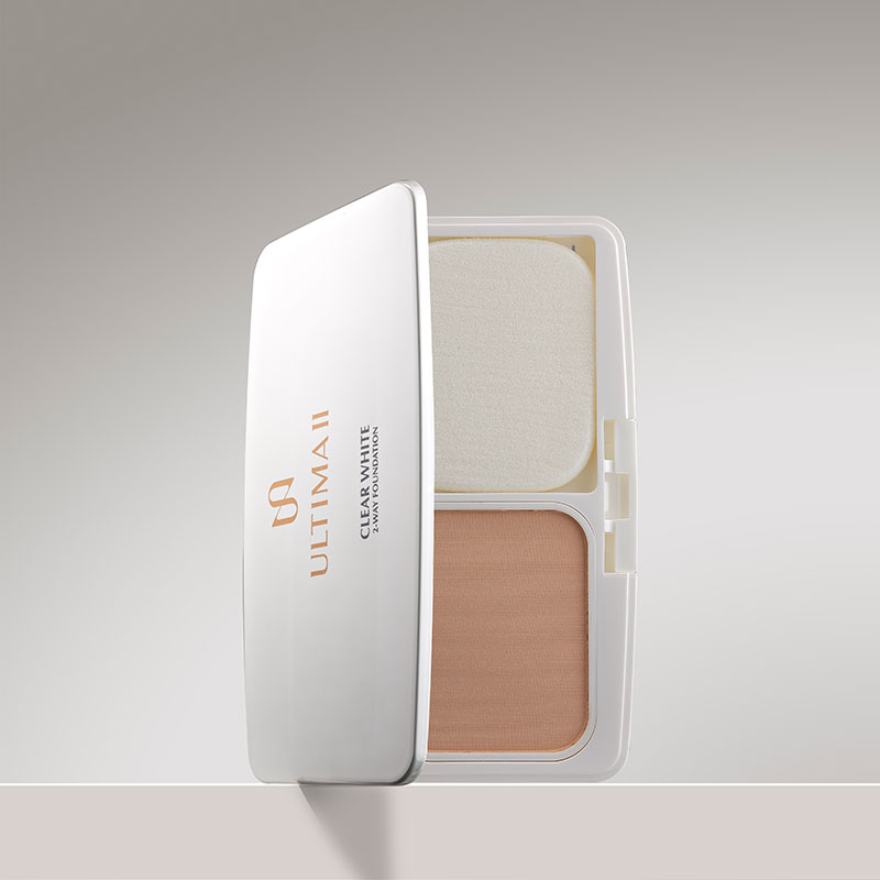 Clear White 2-way Whitening Foundation Compact